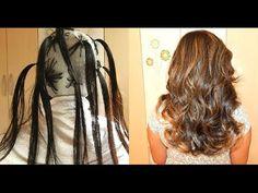 Ombré Hair na touca em cabelo escuro - YouTube