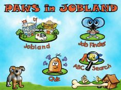 Link to Paws in Jobland.  Awesome resource for career exploration in elementary!