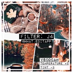 Paid filter ❕ musty brown filter for fall works best on darker colours – FREE ALTERNATIVE: HB2 (w/ higher contrast)