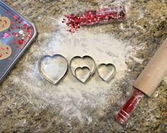 Baby announcement. Clever baby announcement. Valentines Day heart cookie cutters. Valentines baby announcement. Baby heart.