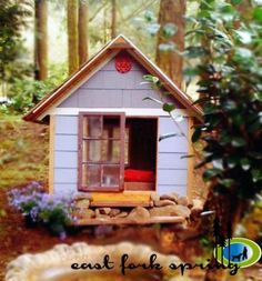 DIY Furniture : DIY  East Fork Free Doghouse (or Playhouse or Storage Shed) Plans (Kind of)