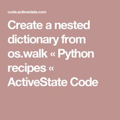 how to create nested dir in python
