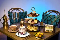 Genie's Cave Afternoon Tea. This limited edition afternoon tea is only available for summer 2017 so don't miss out!