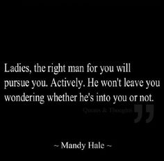 I. Will. Not. Settle.  Mandy Hale Quote.   For more quotes, check out my FB page:  https://www.facebook.com/BeautifulTwistedMind
