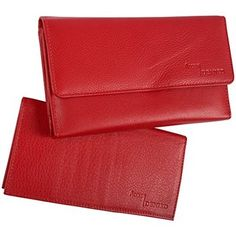 08. RFID Blocking Womens Leather Wallet and Checkbook by Access Denied