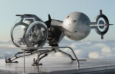 "Tom Cruise's Bubble Ship from Sci-Fi film ""OBLIVION"", release date APRIL 19, 2013."