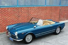 1962 Alfa Romeo 2000 Spyder by Touring
