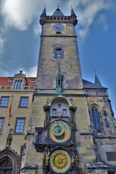 Astronomical Clock, Old City Hall, Prague, Czechia Prague Old Town, Prague Castle, Travel The World For Free, Prague Hotels, Visit Prague, Travel Through Europe, Local Legends, Church Of Our Lady, Old Town Square