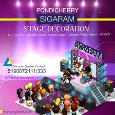 Sigaram - Stage Decorators in Pondicherry
