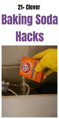 Baking Soda uses, hacks, tips, and tricks that will come in handy. Cleaning Tips Clever Baking Soda Tips & Tricks Baking Soda Cleaning, Baking Soda Uses, Household Cleaning Tips, Baking Soda Shampoo, Cleaning Recipes, House Cleaning Tips, Diy Cleaning Products, Cleaning Solutions, Cleaning Hacks