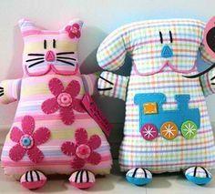 almofadas divertidas moldes - Pesquisa Google