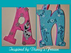 Turquoise Pink Glitter Frozen Inspired Snowflake by Sastara, $14.00