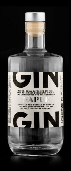 Napue, Gin from Kyrö Distillery Company. PD
