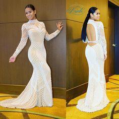 Taina Willams, daughter of Celebrity Stylist, Emily B, looked amazing for her high school prom! Dress by Jovani  #promqueen! #thecoordinatedbride #weddinginspiration #bride #weddingideas #prom2k16 #taina #emilyb #jovani