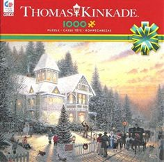 Ceaco Thomas Kinkade Victorian Christmas Puzzle (1000 Piece) Christmas jigsaw puzzles are cute, adorable and a fun activity to do with family and friends.  I especially love the Thomas kinkade Christmas jigsaw puzzles.   I love how these puzzles are so colorful, vivid and pretty to look at.  In fact, if you use puzzle glue and a frame you can have something to remember each and every Christmas by.  Jigsaw puzzles encourage closeness, teamwork and hours of entertainment especially awesome for…