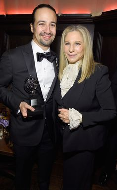 After quite the hiatus, Barbra Streisand returned to the 70th Annual Tony Awards Sunday. The icon...