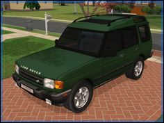 Fresh-Prince Creations - Sims 2 - 1997 Land Rover Discovery