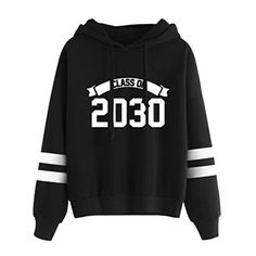 360ab18f4d Reaso Sweat Shirt Hooded Sports Femme Automne Tops à Manches Longues Blouse  Col Rond Casual Pull