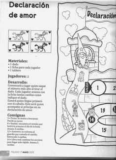 Moldes para Todo: = Juego de Oca, Declaracion de Amor =