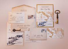 italian destination wedding decorating ideas | Destination Wedding Invitations