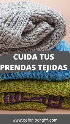 Te enseño como lavar, guardar, doblar tu ropa de crochet o dos agujas para que te duren mucho más Crocheting, Tejidos