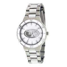 Pearl San Francisco 49ers Ladies Stainless Steel & Ceramic Watch