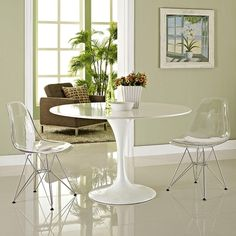 - Paris Dining Side Chair Set of 2 in Clear