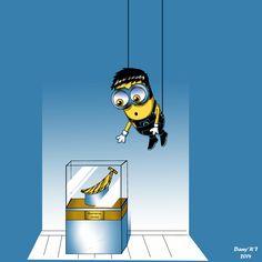 Minion Impossible(Parody-Fanart)