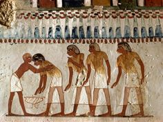 Eighteenth Dynasty of Egypt | the 18th Dynasty, Tomb of Menna, Tombs of the Nobles, Thebes, Egypt ...
