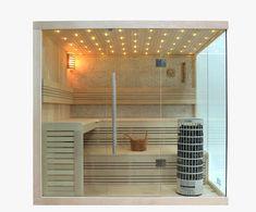 Saunen online kaufen Custom Woodworking, Woodworking Projects Plans, Portable Sauna, Outdoor Sauna, Spa Rooms, Bath, Basement Remodeling, Wood Paneling, Furniture Plans