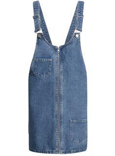 Купить Сарафан джинсовый на молнии oodji  в интернет-магазине женской одежды oodji