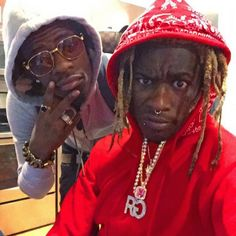 """NEW MUSIC: Rich Homie Quan & Young Thug – My Homie- http://getmybuzzup.com/wp-content/uploads/2015/02/427445-thumb.png- http://getmybuzzup.com/rich-homie-quan-young-thug-2/- By Sarah Rich Homie Quan and Young Thug cut loose another track from their stash of unreleased collaborations. Tonight's drop from the Atlanta natives is called """"My Homie.""""   …read more Let us know what you think in the comment area below. Liked this post? Subscribe to my...-"""