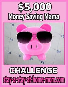 http://www.stay-a-stay-at-home-mom.com/frugal-living-websites.html Piggy Bank! This is what I am doing in the next 12 months to jump-start my savings account.  Will you join me?