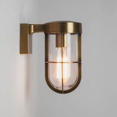 - Cabin Wall Lantern in Antique Brass with Clear Glass Diffuser using 1 x Astro 1368003 Brass Outdoor Lighting, Astro Lighting, Cabin Lighting, Outdoor Wall Lantern, Outdoor Walls, Home Lighting, Exterior Wall Light, Exterior Lighting, Estilo Country