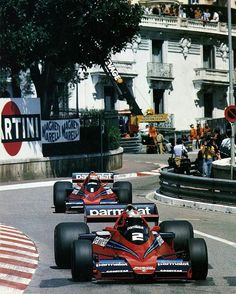 """1,952 Likes, 5 Comments - History of Speed (@history_of_speed) on Instagram: """"John Watson and Niki Lauda in their Brabham BT46's at Monaco 1978  Follow @multiclassics for…"""""""
