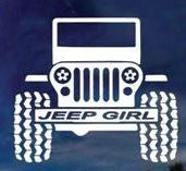 Jeep Girl 2 - Vinyl Decal Choose Size and Color Made with Automotive Grade Vinyl. Yellow Jeep Wrangler, 1997 Jeep Wrangler, Red Jeep, Jeep Tj, Jeep Wrangler Unlimited, Jeep Decals, Vinyl Decals, Lake Pictures, Jeep Accessories