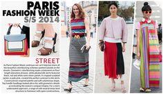 Paris Fashion week, Spring trends 2014 Street  style