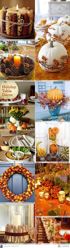 Thanksgiving Decorating Ideas #SaveThanksgiving