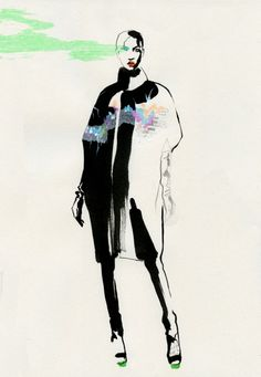 Awesome Fashion Illustrations by Cacilia Carlstedt | Cruzine