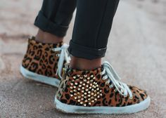 Sincerely, Jules-leopard sneakers
