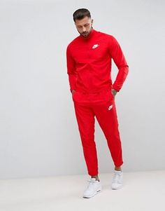 nike jogging rouge homme