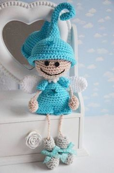 Amigurumi Little Elf Angel-Free Pattern