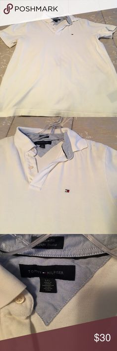 Tommy Hilfiger Polo Men's Tommy Hilfiger Polo size Large Tommy Hilfiger Shirts Polos