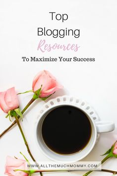 Blogging resources to help you figure out what programs are the best for building a successful blog! In this post, I feature several of my favorite bloggers-- Elna Cain @elna4 of Twins Mommy, Sydney @tothewildco of To The Wild Co, Diana @thecoffeedate of The Coffee Date, and Arfa @epifeblog at Epife.