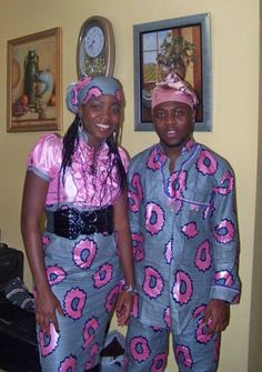 Nigerian matching outfits