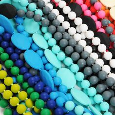 Necklaces and bracelets that your kids can chew on!