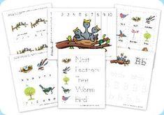 Birds Preschool Pack - 1+1+1=1