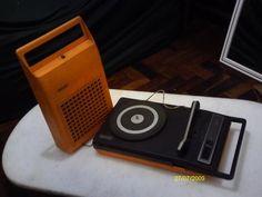 Vitrola-Eletrofone-Philips-Modelo Portátil