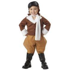 Toddler Amelia Earhart Toddler Costume