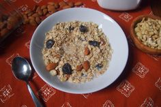 An Avocado A Day: DIY Cherry Coconut Oat Cereal